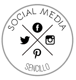 logo sobre social media y marketing onlline