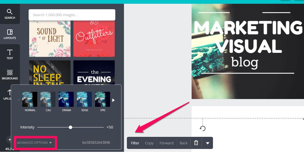 selecciona-filtro-imagen-personalizada